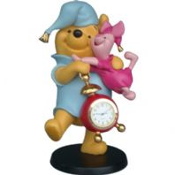 Winnie the Pooh and Piglet Clock